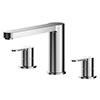 Asquiths Sanctity Deck Mounted Bath Filler (3TH) - TAA5121 profile small image view 1