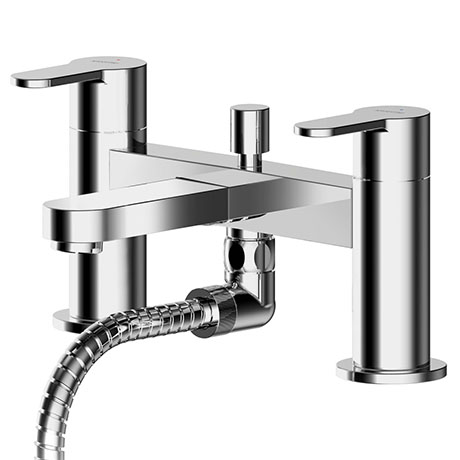 Asquiths Sanctity Deck Mounted Bath Shower Mixer with Shower Kit - TAA5123