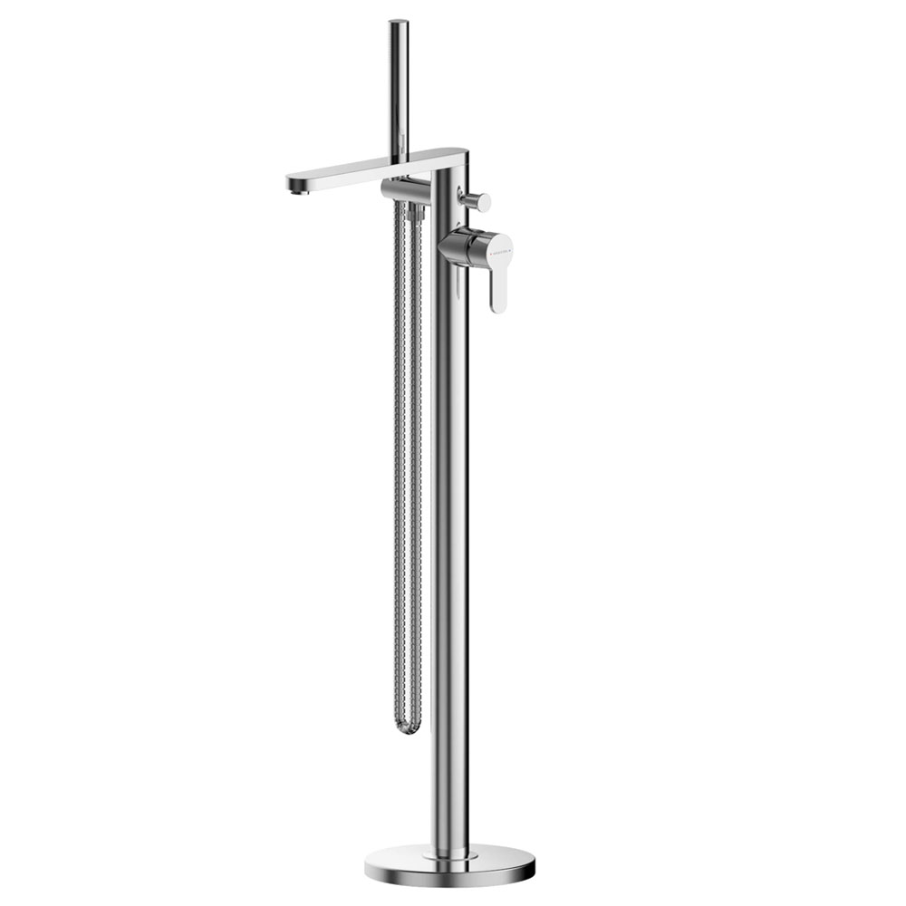 Asquiths Sanctity Freestanding Bath Shower Mixer with Shower Kit - TAA5129