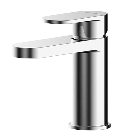 Asquiths Solitude Mini Mono Basin Mixer With Push-Button Waste - TAB5106