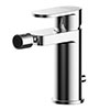 Asquiths Solitude Mono Bidet Mixer With Pop-up Waste - TAB5110 profile small image view 1