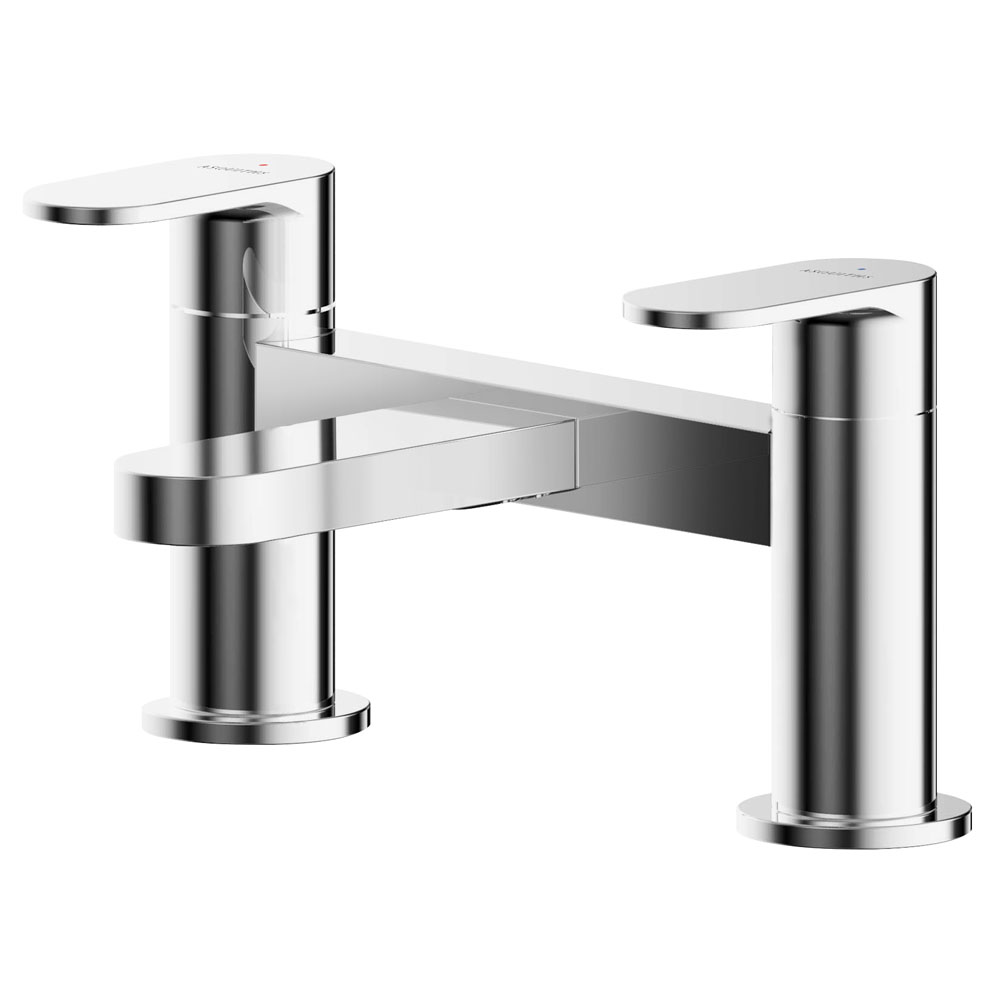 Asquiths Solitude Deck Mounted Bath Filler - TAB5120
