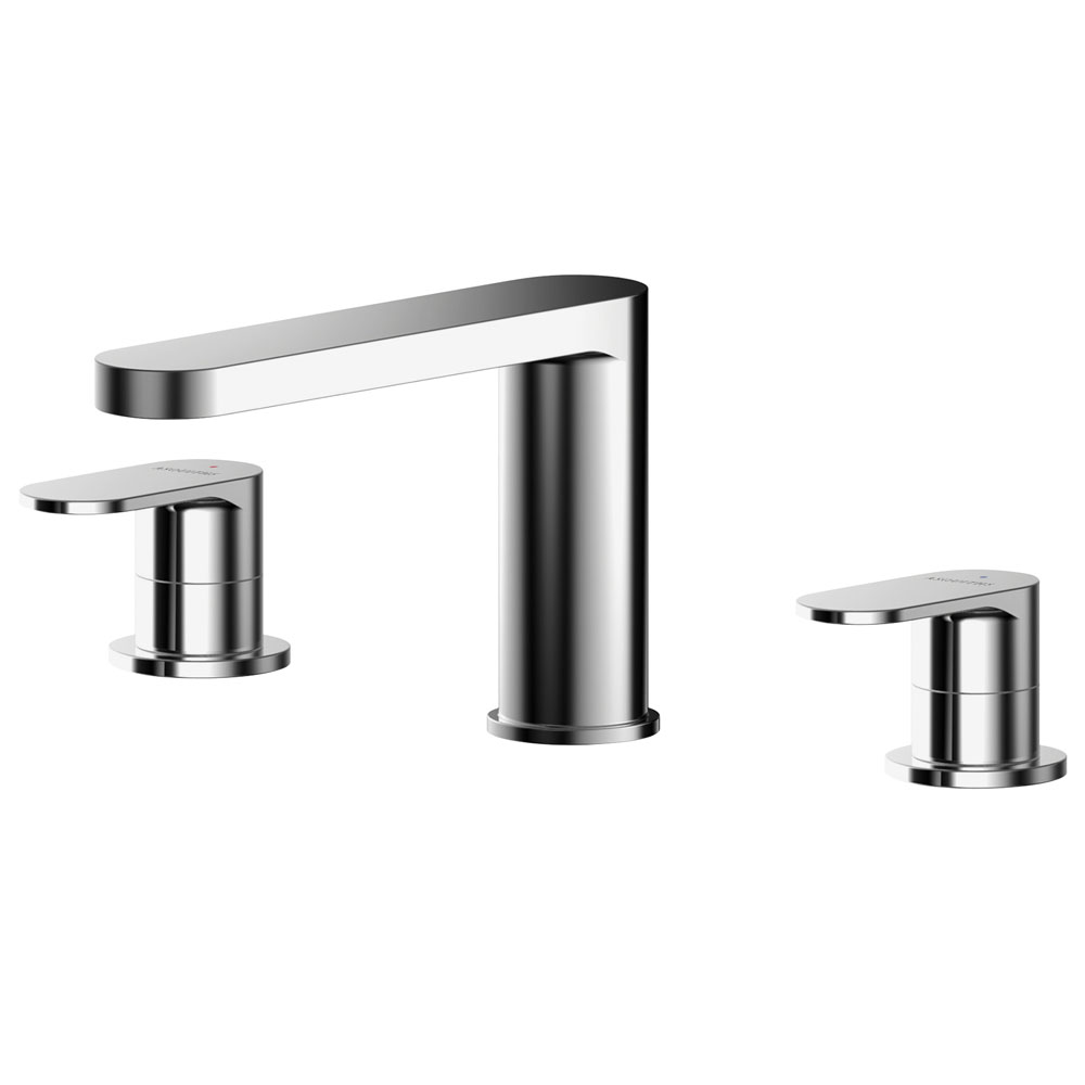 Asquiths Solitude Deck Mounted Bath Filler (3TH) - TAB5121