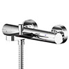Asquiths Solitude Thermostatic Wall Mounted Bath Shower Mixer - TAB5128 profile small image view 1
