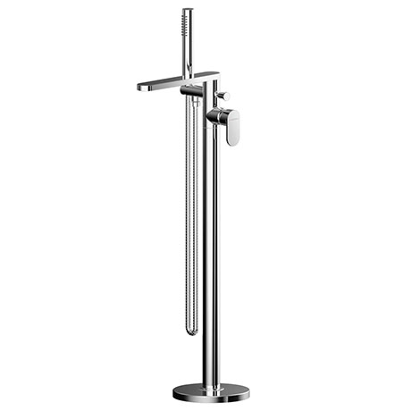 Asquiths Solitude Freestanding Bath Shower Mixer with Shower Kit - TAB5129