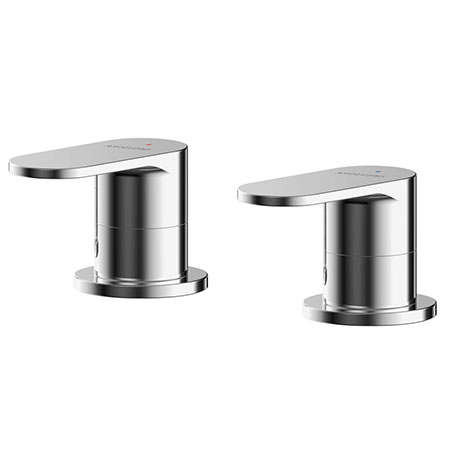 "Asquiths Solitude 3/4"" Side-valves (Pair) - TAB5131"
