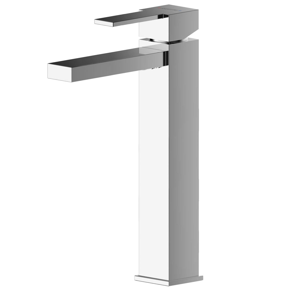 Asquiths Revival Tall Mono Basin Mixer With Push-Button Waste - TAC5109