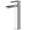 Asquiths Revival Tall Mono Basin Mixer With Push-Button Waste - TAC5109 profile small image view 1