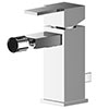 Asquiths Revival Mono Bidet Mixer With Pop-up Waste - TAC5110 profile small image view 1