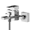 Asquiths Revival Wall Mounted Bath Shower Mixer with Shower Kit - TAC5127 profile small image view 1
