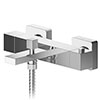 Asquiths Revival Thermostatic Wall Mounted Bath Shower Mixer - TAC5128 profile small image view 1
