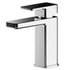 Asquiths Tranquil Mono Basin Mixer With Push-Button Waste - TAD5102 profile small image view 1