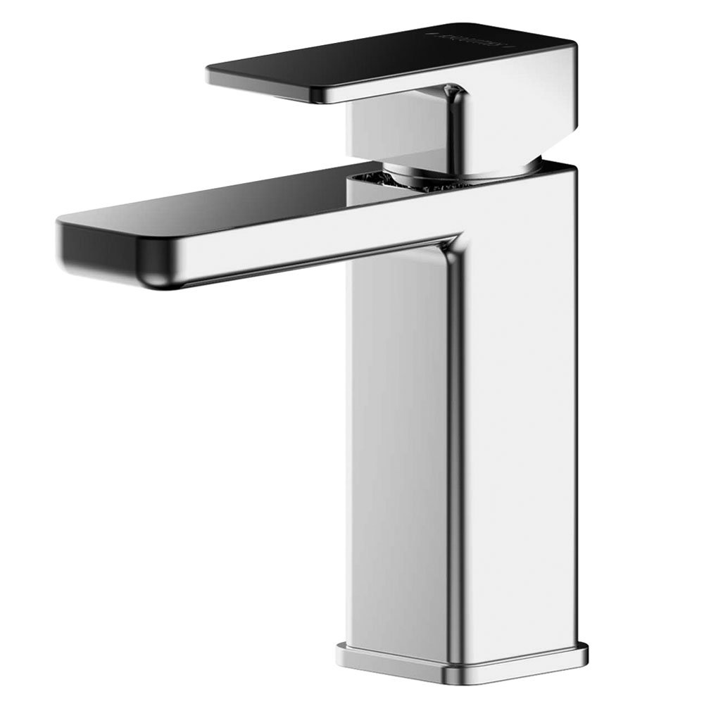Asquiths Tranquil Mini Mono Basin Mixer With Push-Button Waste - TAD5106