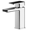 Asquiths Tranquil Mini Mono Basin Mixer With Push-Button Waste - TAD5106 profile small image view 1