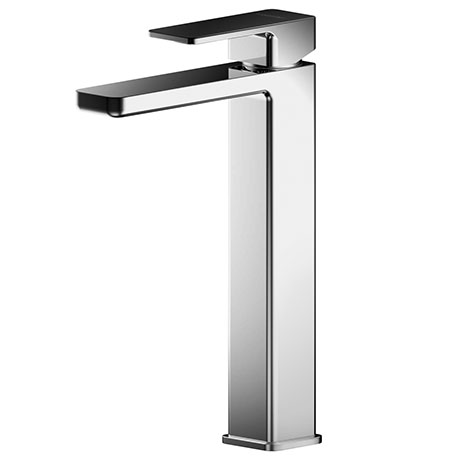 Asquiths Sanctity Tall Mono Basin Mixer With Push-Button Waste - TAD5109