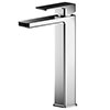 Asquiths Tranquil Tall Mono Basin Mixer With Push-Button Waste - TAD5109 profile small image view 1