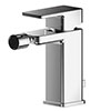 Asquiths Tranquil Mono Bidet Mixer With Pop-up Waste - TAD5110 profile small image view 1