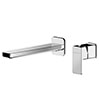 Asquiths Tranquil Wall Mounted Basin Mixer (2TH) Without Backplate - TAD5112 profile small image view 1
