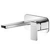 Asquiths Tranquil Wall Mounted Basin Mixer (2TH) With Backplate - TAD5113 profile small image view 1