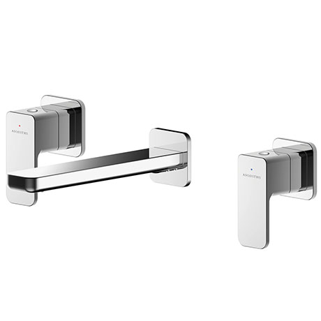Asquiths Tranquil Wall Mounted Basin Mixer (3TH) Without Backplate - TAD5114