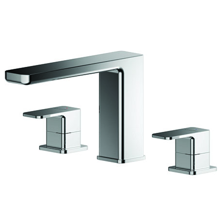 Asquiths Tranquil Deck Mounted Bath Filler (3TH) - TAD5121