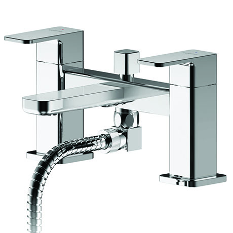Asquiths Tranquil Deck Mounted Bath Shower Mixer with Shower Kit - TAD5123