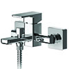 Asquiths Tranquil Wall Mounted Bath Shower Mixer with Shower Kit - TAD5127 profile small image view 1