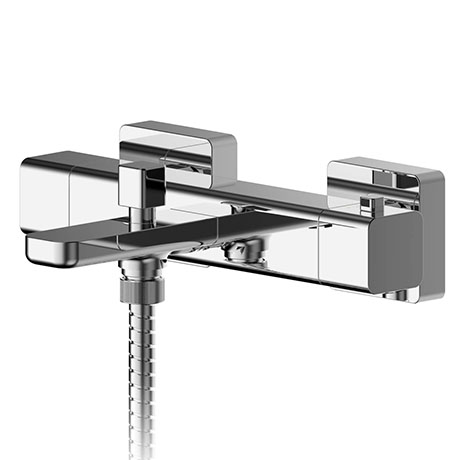 Asquiths Tranquil Thermostatic Wall Mounted Bath Shower Mixer - TAD5128
