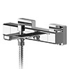 Asquiths Tranquil Thermostatic Wall Mounted Bath Shower Mixer - TAD5128 profile small image view 1