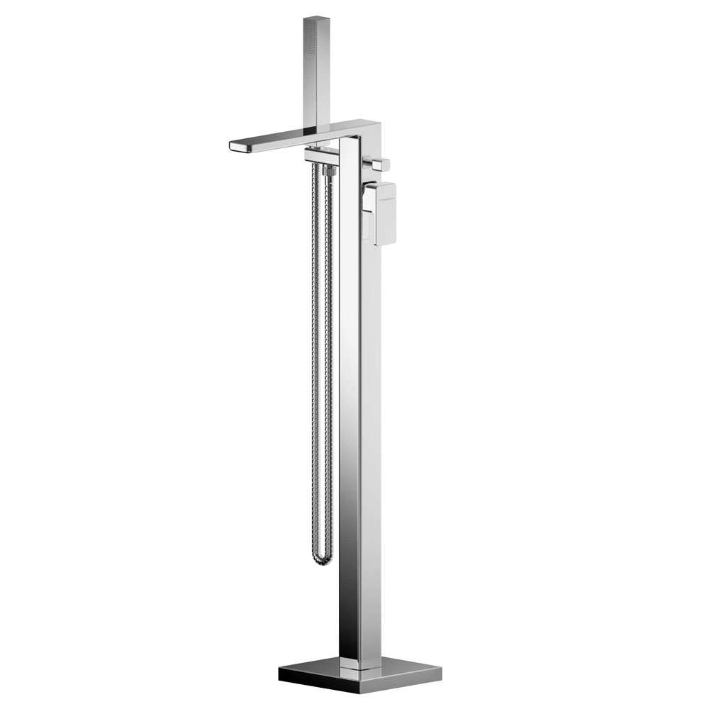 Asquiths Tranquil Freestanding Bath Shower Mixer with Shower Kit - TAD5129