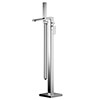 Asquiths Tranquil Freestanding Bath Shower Mixer with Shower Kit - TAD5129 profile small image view 1