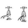 Asquiths Restore Crosshead Bath Taps - TAE5319 profile small image view 1