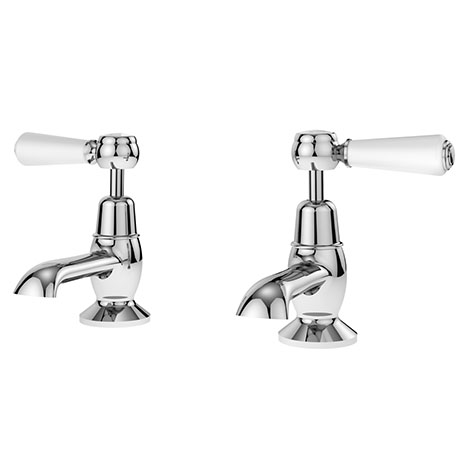 Asquiths Restore Lever Basin Taps - TAF5316