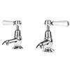 Asquiths Restore Lever Basin Taps - TAF5316 profile small image view 1