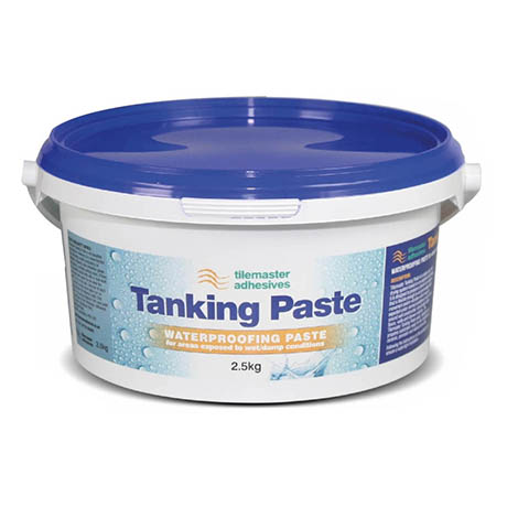 Tilemaster Adhesives 2.5kg Tanking Paste