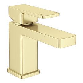 Toreno Modern Brushed Brass Basin Mono Mixer Tap