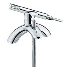Heritage - Caprieze Bridge Bath Shower Mixer - TCC02 Medium Image