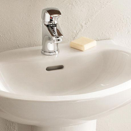 Heritage - Caprieze Mono Basin Mixer with Clicker Waste - TCC04K profile large image view 2