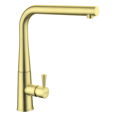 Rangemaster Conical Kitchen Mixer Tap - Brushed Brass