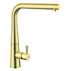 Rangemaster Conical Kitchen Mixer Tap - Brushed Brass profile small image view 1