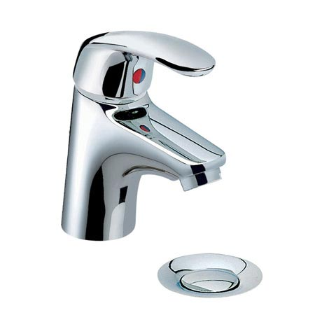 Heritage - Caprieze Mini Mono Basin Mixer with Pop-up Waste - TCSC04