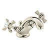 Heritage - Dawlish Mono Basin Mixer with Pop-up Waste - Vintage Gold - TDCG04 profile small image view 1