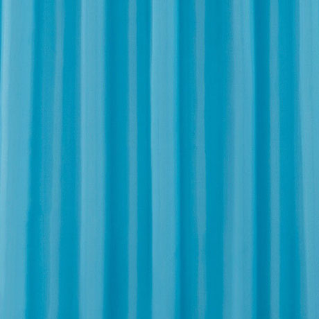 Teal W1800 x H1800mm Polyester Shower Curtain