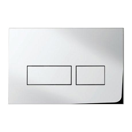 Bauhaus - Tempo Dual Flush Plate - Various Colour Options