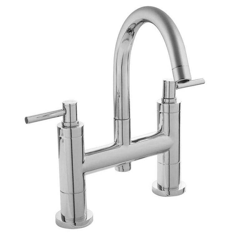 Hudson Reed - Tec Lever Bath Filler with swivel spout - TEL353 Large Image