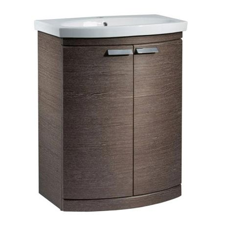 Tavistock Tempo 650mm Freestanding Unit & Basin - Dark Java