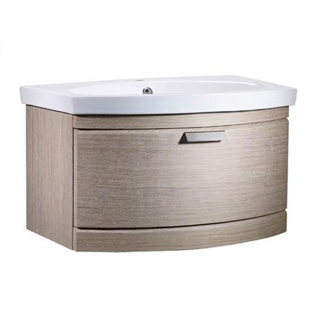 Tavistock Tempo 650mm Wall Mounted Unit & Basin - Light Java