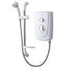 Triton Tenero 8.5kw Electric Shower - White - TENER08WHT profile small image view 1