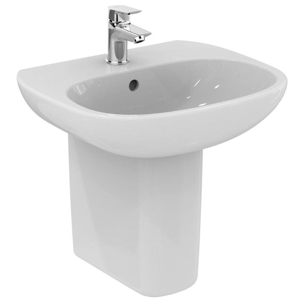 Ideal Standard Tesi Basin 1TH Basin & Semi Pedestal