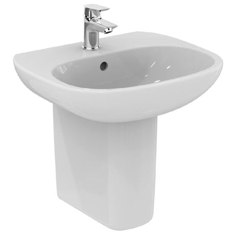 Ideal Standard Tesi Basin 1TH Basin & Semi Pedestal